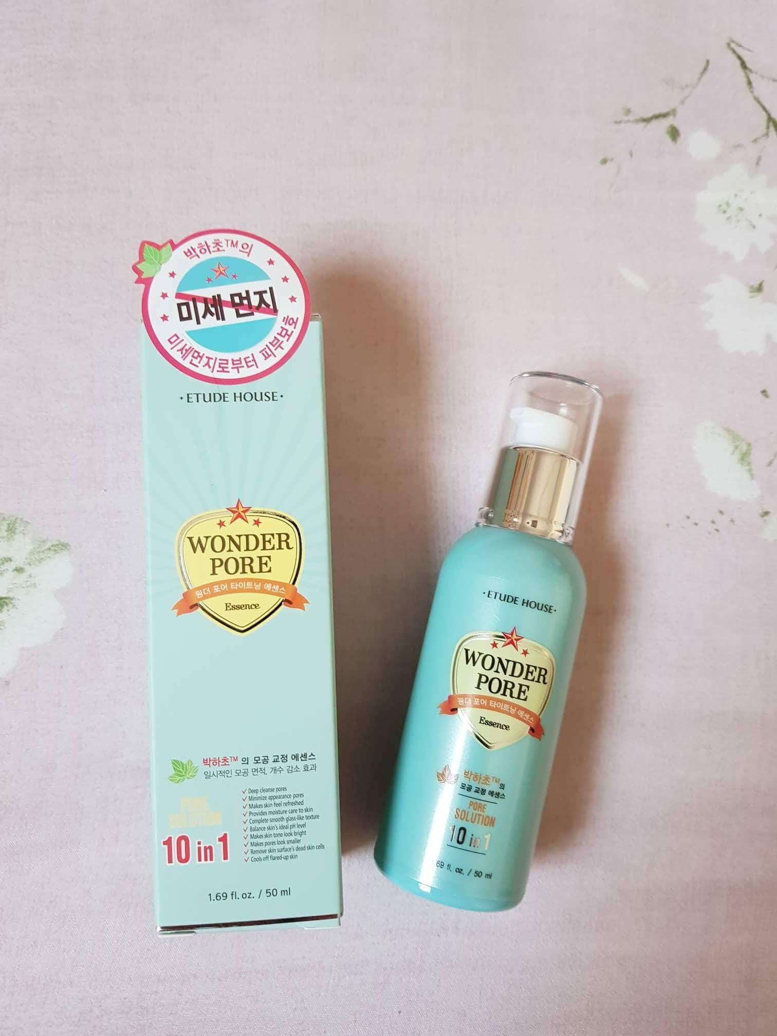 Etude House Wonder Pore Tightening Essence 50ml Korean Skincare Freshner 500 Ml 1537280139 1jpeg