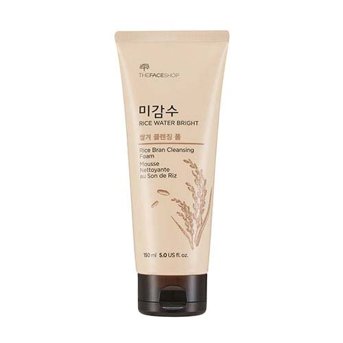 [THE FACE SHOP] Rice Water Bright Rice Bran Cleansing Foam 120ml