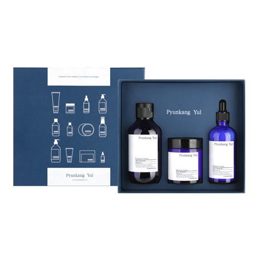 [Pyunkang Yul]*Renewal* Moisture Skincare Set (3items: Essence Toner 200ml + Moisture Serum 100ml +Moisture Cream 100ml)