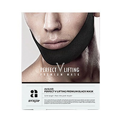 [Avajar] Perfect V Lifting Premium Black Mask 1ea