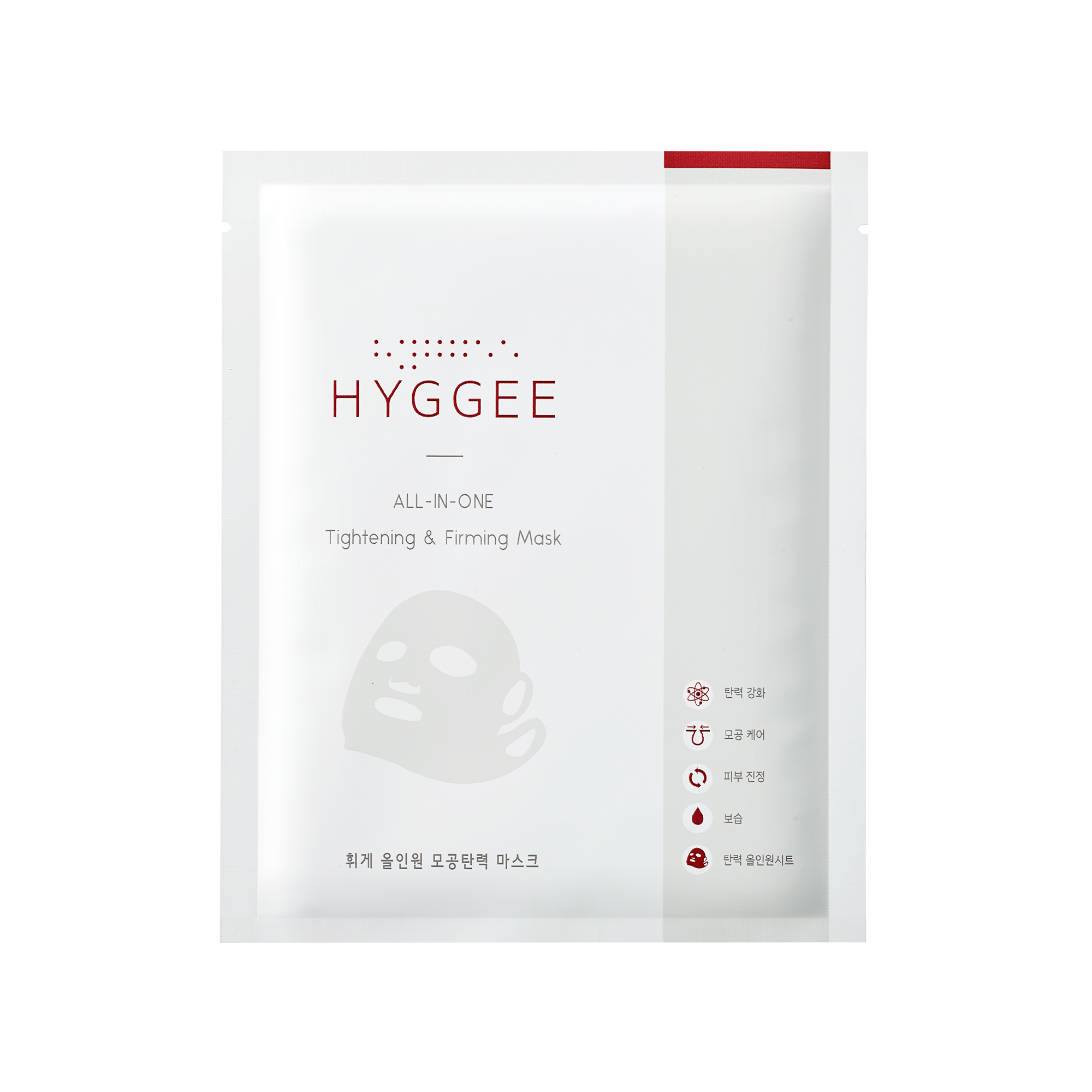 [HYGGEE] All-In-One Tightening & Firming Mask 1ea