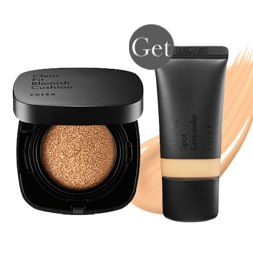[COSRX] *Get Free* Clear Fit Blemish Cushion #27 + Clear Fit Spot Concealer #23