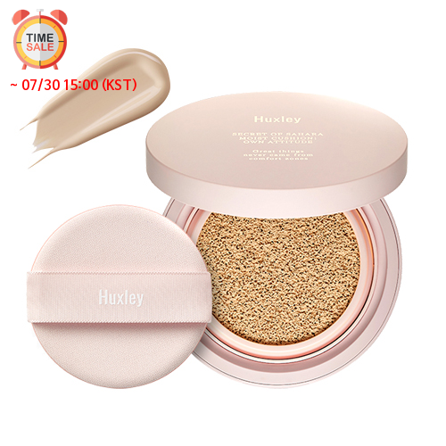 [Huxley] *Time Deal*  Moist Cushion; Own Attitude #02 (Sand)