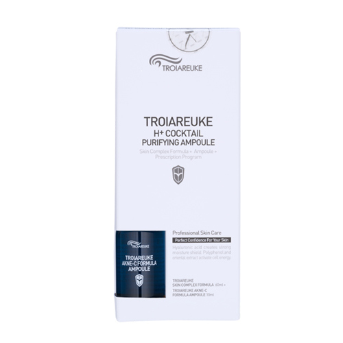 [TROIAREUKE] Healing Cocktail Skin Complex Formula 60ml + Ampule 10ml  #Blue (Purifying)