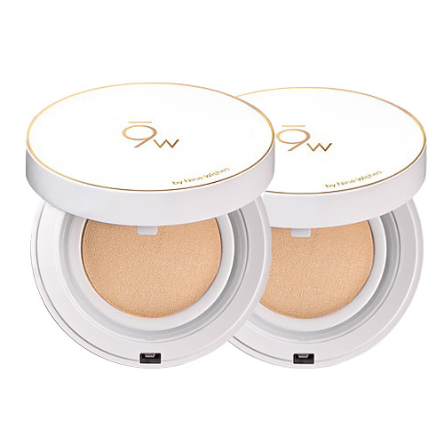[9wishes] Light Fit Perfect Cover Cushion SPF50+ PA++++ #21