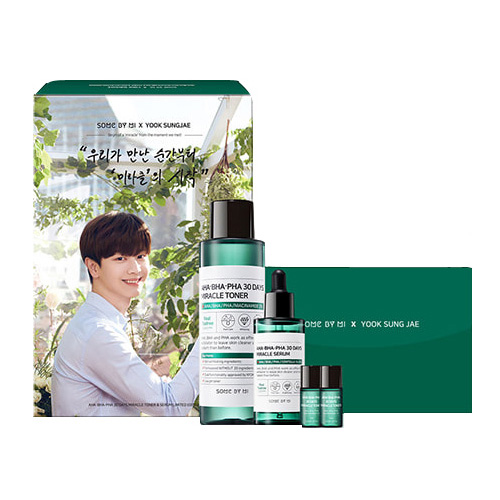 [SOME BY MI] AHA.BHA.PHA 30 Days Miracle Toner & Serum Set(Limited Edition01)