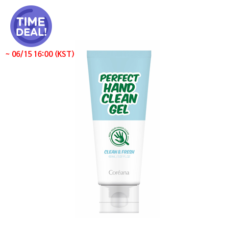 [Coreana] *Time Deal*  Perfect hand Clean Gel 60ml