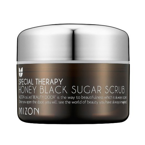 [Mizon] Honey Black Sugar Scrub 90g (Remove Blackheads, Pores, Exfoliate)