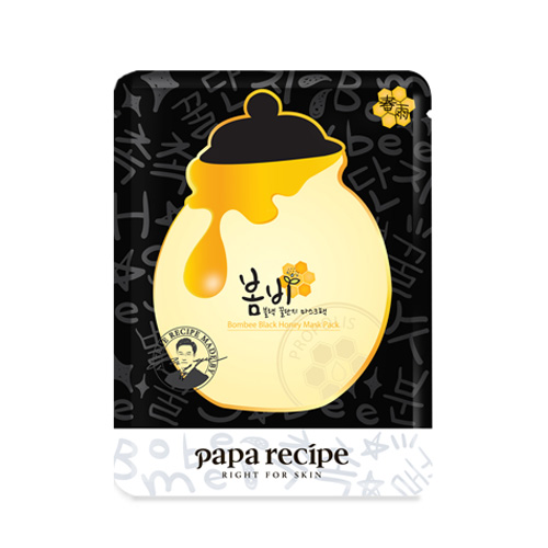 [Paparecipe] Bombee Black Honey Mask