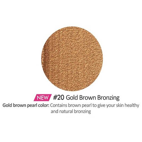 [Etude House] Play 101 Stick Multi Color #20 (Gold Brown Bronzing)