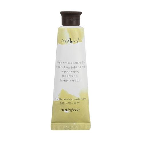 [Innisfree] Jeju Life Perfumed Hand Cream 30ml #04 (April)