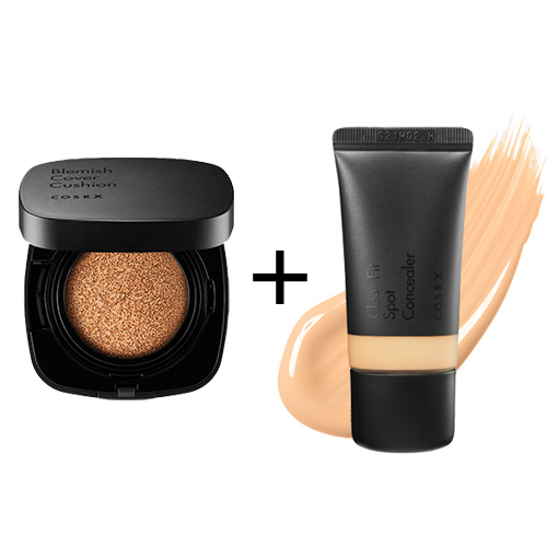 [COSRX] *Renewed* Blemish Cover Cushion #23 + Clear Fit Spot Concealer #23
