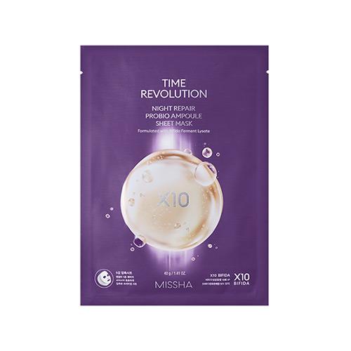 [Missha] Time Revolution Night Repair Probio Ampoule Sheet Mask