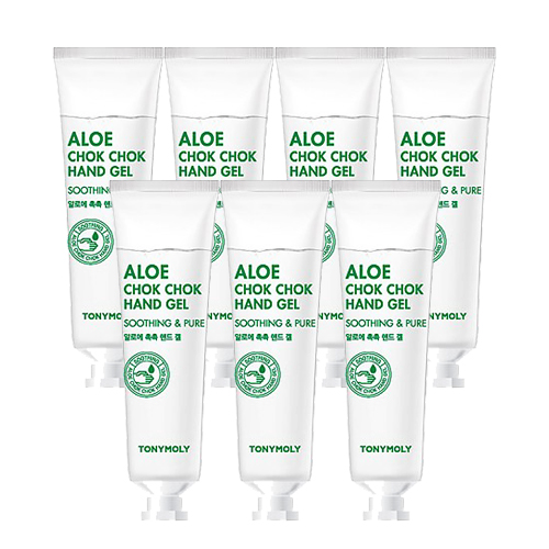 [Tonymoly] Aloe Chok Chok Hand Gel Soothing & Pure 30ml (7ea)